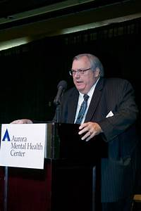 AMHC CEO Randy Stith thanks sponsors, board members and guests