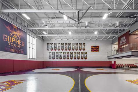 gopher wrestling training facility bwbr