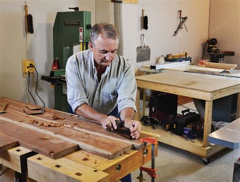 flattening  bench top canadian woodworking magazine