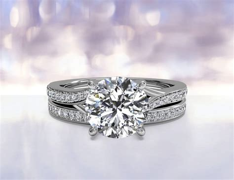 faq which wedding band style is best to pair with a ritani modern bypass engagement ring ritani