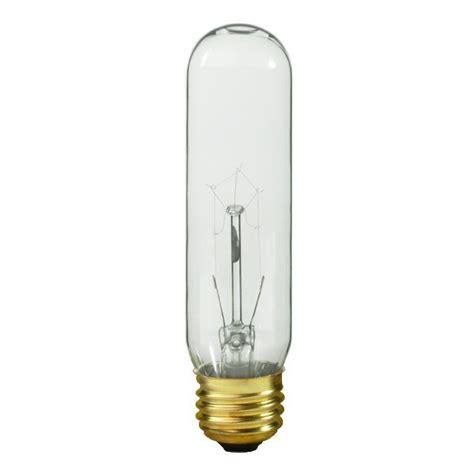 satco s3252 40 watt t10 light bulb clear