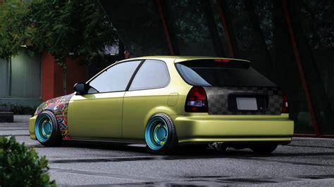 Honda Civic Jdm Cars  Car Interior Design