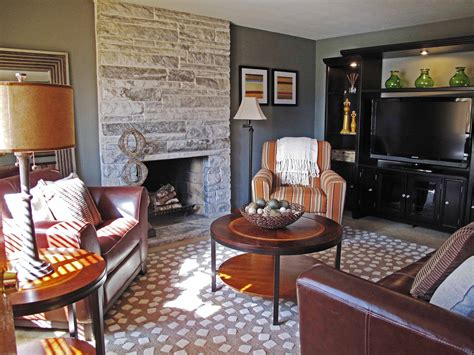 living room paint ideas with fireplace living room