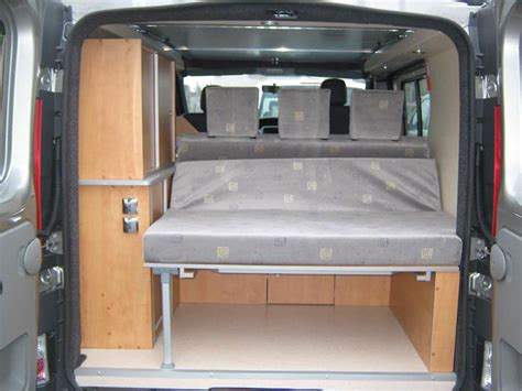 kit  amenagement de fourgon en camping car auto sport