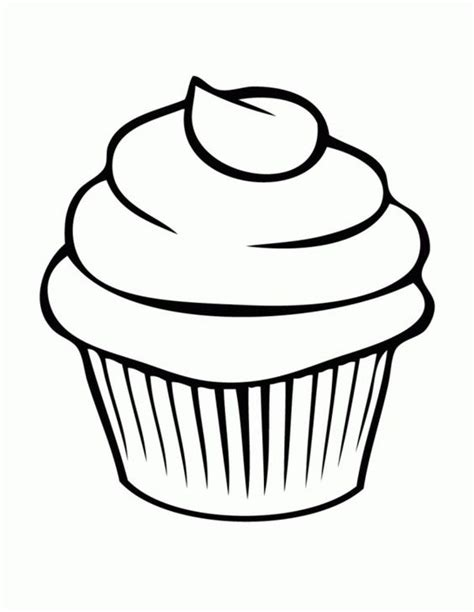 tags bread cupcake coloring pages picture  cupcake