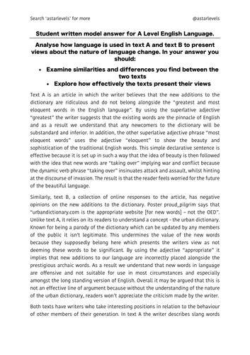 language discourses  student essay paper   teaching resources