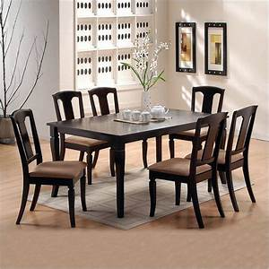 Popular Dining Room 7 Piece Dining Room Sets With Home