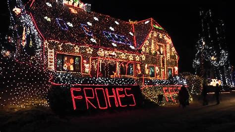 Weihnachtshäuser In Deutschland by 420 000 Lichter Weihnachtshaus In Calle 2010