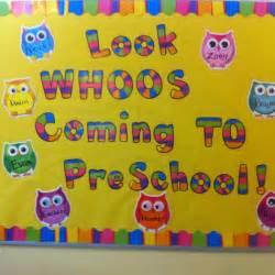 Back to Preschool Bulletin Board Ideas