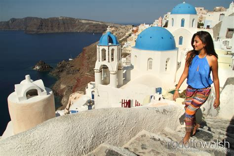 Fashion Photography Session Santorini, Greece Rodolfo