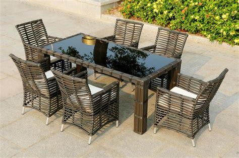mobili da giardino rattan sintetico arredamento  esterno