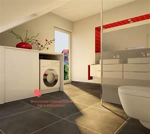Waschmaschinenschrank Mit Tür : wohin mit der waschmaschine im bad my lovely bath magazin f r bad spa ~ Eleganceandgraceweddings.com Haus und Dekorationen