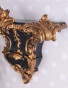 Applique Murale Baroque : baroque console console applique murale rococo tag re murale wandboard ebay ~ Teatrodelosmanantiales.com Idées de Décoration
