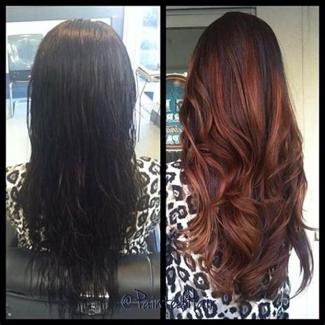 Before And After To Brown by 1000 Ideas About Copper Hair On Copper