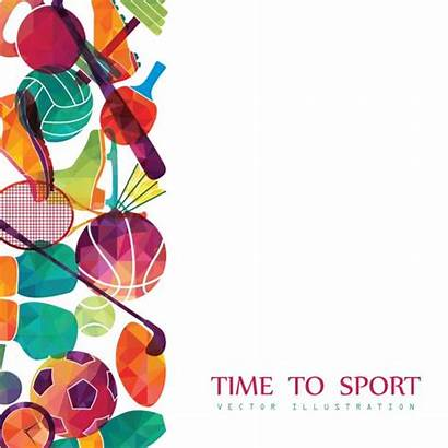 Background Sport Vector Golf Basketball Sports Tennis