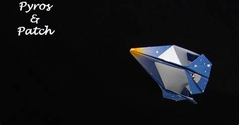 Origami Volanti by Pyros Patch Origami Volanti 2