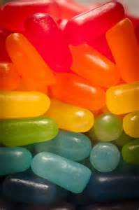 Rainbow Jelly Beans Candy