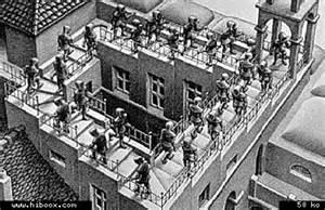 Maurits Cornelis Escher Escalier by Les Copains D Abord Dessiner C Est Tricher