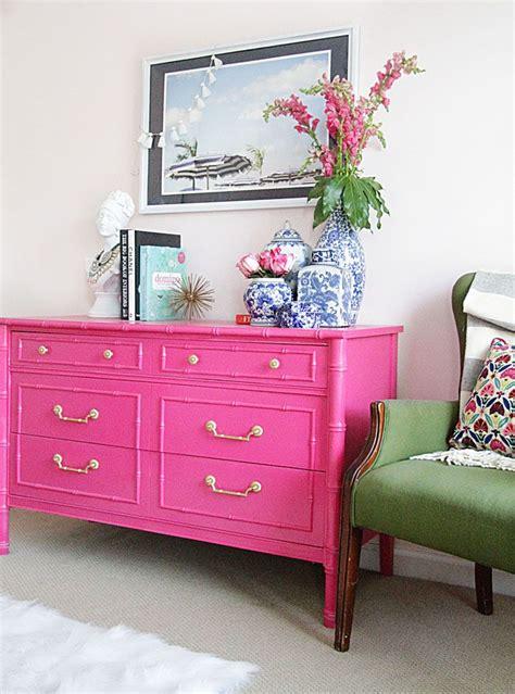 pink dresser ideas  pinterest pink furniture
