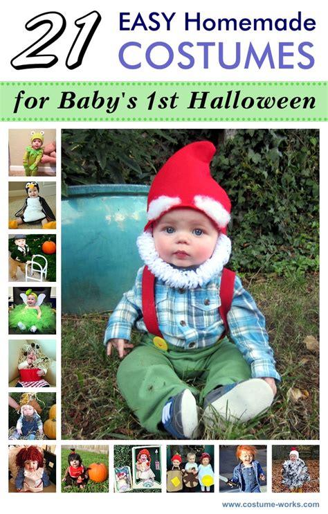 easy homemade costumes  babys  halloween