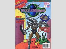 BeetleBorgs #3 A Really Smashing Christmas! Issue