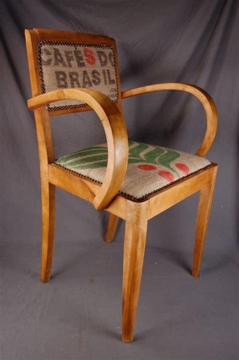 fauteuil bridge relook 201 jute ancien les vieilles choses