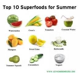 top 10 health remedies for its summer time