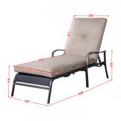 Lounge Chair Size pool chair dimensions