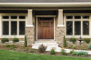 prairie style ranch homes craftsman style wood entry door from pella windows and