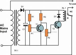 Simple Mains Ac Over Voltage And Under Voltage Protection Circuit Explained