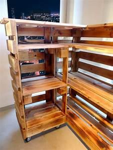 Bar Aus Holz : paletten bar paletten tresen ~ Eleganceandgraceweddings.com Haus und Dekorationen
