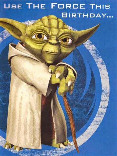 Pour une soirée spéciale star wars, pensez à vous déguiser ! Star Wars Birthday Cards   Birthday Picture