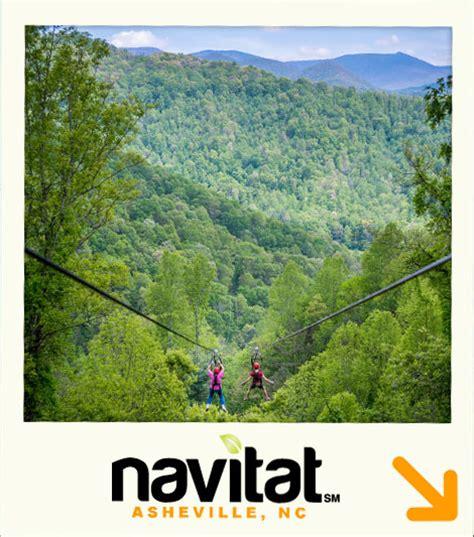 Navitat Zipline Canopy Adventures | Asheville NC and ...