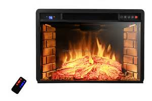 Electric Fireplace Log Insert by 1400w Free Standing Insert Electric Fireplace Firebox