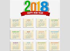 邮票效果2018日历模板素材图片免费下载_高清装饰图案psd_千库网图片编号7836735
