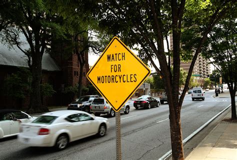 allstate adds   motorcycles signs