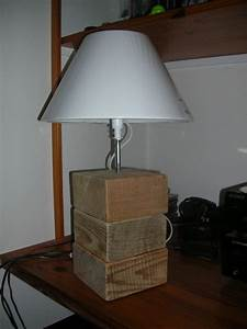 Lampe En Palette : la lampe palette r cup 39 way of life ~ Voncanada.com Idées de Décoration