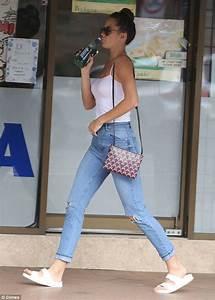 jesinta campbell goes braless in sydney39s rose bay as she With sydney rose nail salon