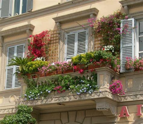 des plantes grimpantes pour balcon et terrasse on est toujours dans le jardin
