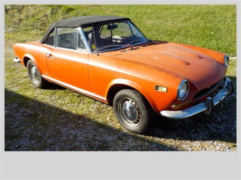 1973 Fiat 124 Spider by 1973 Fiat 124 Sport Convertible Classic Fiat 124 Spider