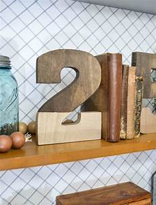 Diy, Bookends, Gold, Dipped, Numbers, Diy, In, 30