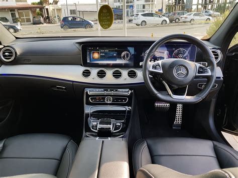 The optional mbux interior assistant allows intuitive, natural operation of various comfort and mbux functions also by movement recognition. Mercedes Benz E-Class 220D Premium Plus AMG | M Michael Luxury Cars