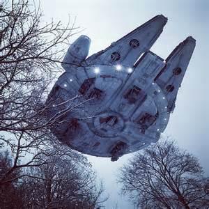 Real Star Wars Millennium Falcon