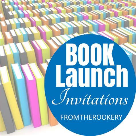 Book Launch Invitation