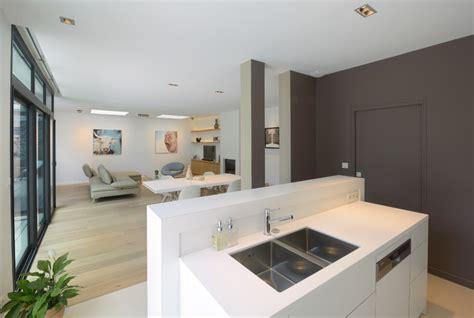 agencement cuisine en l agencement et décoration d 39 une maison contemporaine