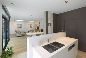 agencement et decoration d39une maison contemporaine With agencement cuisine en l