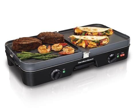 cuisine grill amazon com hamilton 38546 3 in 1 grill griddle