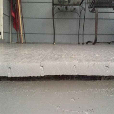 porch leaking through floor doityourself community