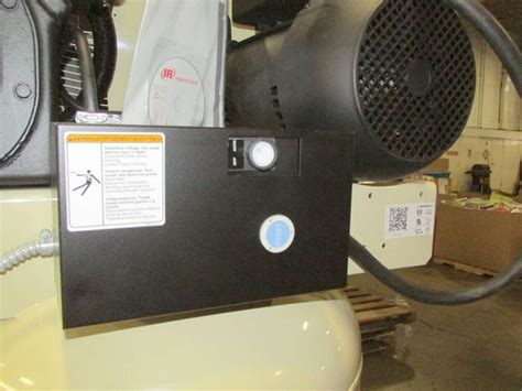 ingersoll rand 2475n7 5 2 stage 230v 1ph 7 5hp electric air compressor ebay
