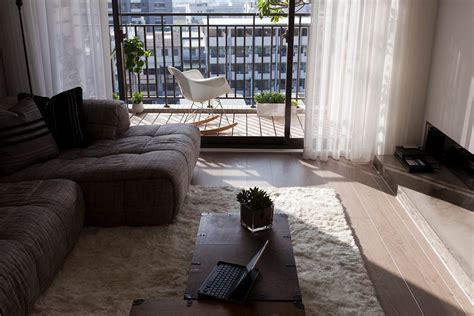 apartment livingroom living room balcony interior design ideas